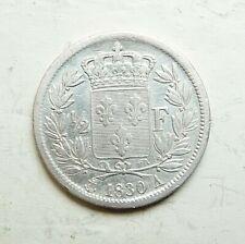 CHARLES X  demi-franc 1830 A