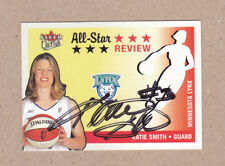 Katie Smith signed 2003 Fleer Ultra All-Star Review card #2 Minnesota Lynx