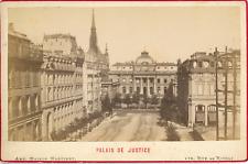 Maison Martinet, France, Paris, Palais de Justice, ca.1880, vintage albumen prin