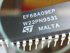 50 x  EF68A09EP 8-bit CPU  SGS / ST MICRO DIP-40