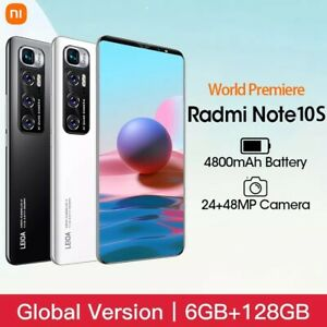 smartphone unlocked Note10S 6.1 inch android phone 8GB+512GB Global Version