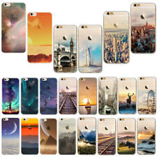 Sunrise Design Ultra Thin Silicone Phone Cover Case For Iphone 6 S 7 8 PLUS 5 5S