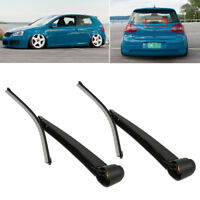 Excellent Rear Wiper Blade+Arm Set for VW Golf Mk5 Upgrade 1.8 VR6 GTi R32 BC