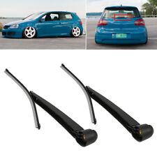 Excellent Rear Wiper Blade+Arm Set for VW Golf Mk5 Upgrade 1.8 VR6 GTi R32 BC