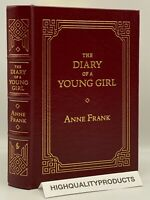 Easton Press THE DIARY OF A YOUNG GIRL Anne Frank Collector's LIMITED Edition OP