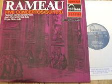SFL 14128 Rameau Five Concertos (Suites) / Gerlin / Rampal / Alain