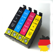 Set of 4 non-OEM Ink Cartridges Equivalent to Strawberry Series to replace T29XL