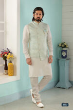 Mens Ethnic Bollywood Wedding Wear Pakistani Boys Kurta Pajama Dress From India