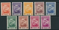 Macao 1938 Air mail SG 382-90 MM