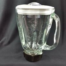 Oster Blender Replacement Part Glass Clover Shaped Pitcher 5 Cup Osterizer 1.25L