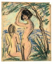 Otto Mueller (attributed to) Zwei Mädchen im Wald, 1925