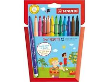Stabilo Trio Frutti Scented Fibre Felt Tip Pens - Assorted Set Of 12 -290/12-01