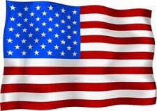 USA American Ondulados Bandera Coche Scooter calcomanías Pegatina De Vinilo