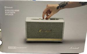 Marshall Acton II Wireless Bluetooth Speaker - White