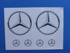 Mercedes Benz: 6-fach AUTO-Aufkleber Original v.Mercedes B.  NEU