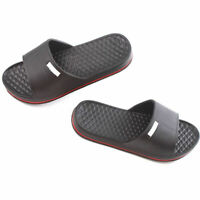 Mens Slip On Sport Slide Sandals Flip Flop Shower Shoes Gym Slipper H D2Q5 G3L7