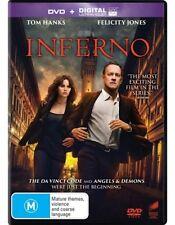 Inferno (DVD, 2017) NEW