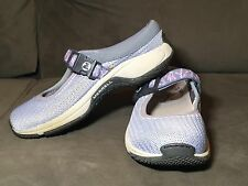 MERRELL Encore MJ Sky Blue Slip On Mary Jane Clogs Womens 6.5 Moc Shoes QForm