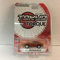1971 Datsun 240Z * Burnt Orange * Tokyo Torque * Greenlight * YA12