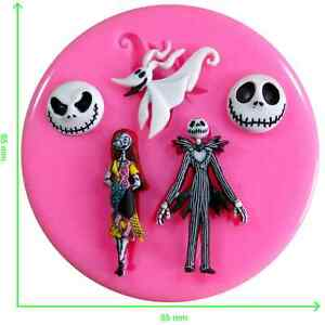 Disney Nightmare Before Christmas Silicone Mould by Fairie Blessings
