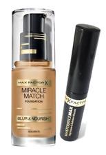 Max Factor Miracle Match Foundation Golden 75 & Masterpiece Max Mascara