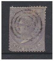 Mauritius - 1863, 6d Slate stamp (No Wmk) - Used - SG 50
