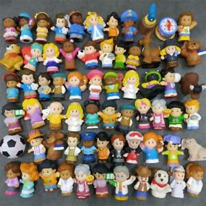 Random 10PCS Fisher Price Little People Postman Astronaut 2in. Figure Toy Doll