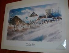 "James Harvey Taylor ""Winter Day"" Limited Edition Print #209/950"