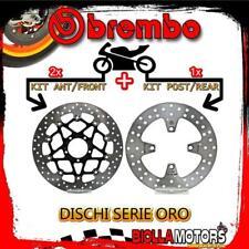 BRDISC-3015 KIT DISCHI FRENO BREMBO DUCATI MONSTER S 2014- 1200CC [ANTERIORE+POS