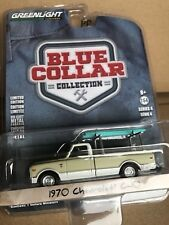 Greenlight Blue Collar  1970 Chevrolet C-10 pickup w/ ladder rack