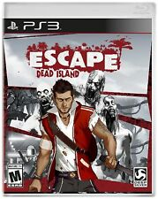 Sony PS3 Escape Dead Island Video Game action adventure horror zombie combat gun