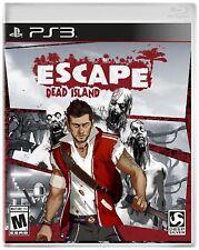 Sony PS3 Escape Dead Island Video Game action adventure horror zombie combat gun