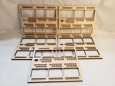 Terraforming Mars Component Upgrade Lot of 5 Wooden Player Boards Overlays