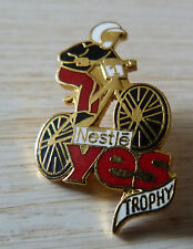 BEAU PIN'S VELO CYCLE CYCLISME VTT YES CHOCOLAT NESTLE TROPHY EGF