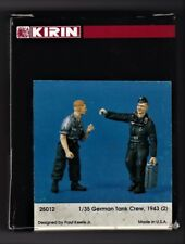 KIRIN SCALE MODEL 25012 - GERMAN TANK CREW, 1943 (2) - 1/35 RESIN KIT