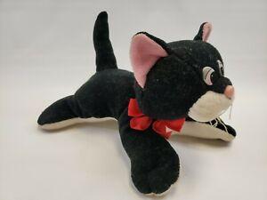 """Vintage Pound Puppies Pound Purries Kitten Newborn Plush Black Cat 8"""""""