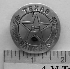 TEXAS RANGER FLAG(COLLECTABLE BADGES) (BADGES OF THE  OLD WEST) FREE SHIPPING