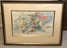 Roberto Matta Un Pourquoi Final  Etching Limited Edition Framed