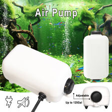 65GPH Whisper Air Pump Water Fish Tank Aquarium Up to 125Gal Two Outlets