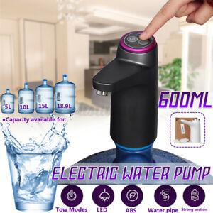 Electric Wireless Drinking Water Pump Bottle Dispenser Absorber USB Rechargeable