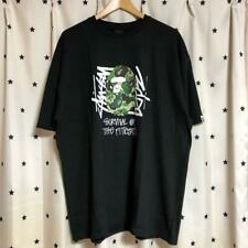 STUSSY × A BATHING APE Limited T shirts Abusing Ape in XL F/S from JAPAN