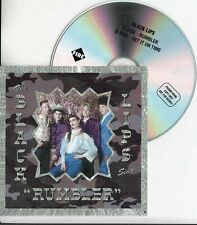 BLACK LIPS Rumbler 2020 UK 2-trk promo test CD + press release