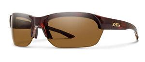 $189 Smith Envoy Sport Sunglasses Havana w/ ChromaPop Polarized Gold Mirror