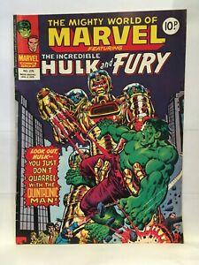 Mighty World of Marvel #275 Marvel Comics UK Magazine January 1978