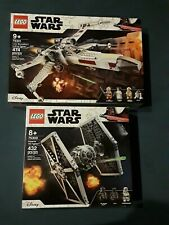 LEGO Star Wars Imperial TIE Fighter and Luke Skywalker's X-Wing 75300/75301 NEW