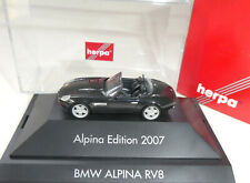 Herpa BMW Alpina edition 2007  RV8 Cabrio ❌ 1:87 H0 in OVP❌BM 1247