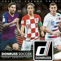 2018-19 Panini Donruss Soccer Insert Cards Pick From List (All Versions)