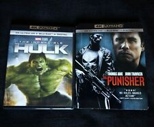 INCREDIBLE #HULK & THE #PUNISHER 4K/Blu-ray + FREE SHIPPING!! #4K #Marvel #SciFi