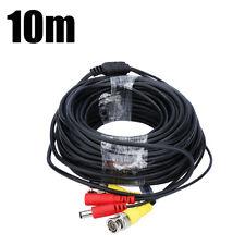 10M CCTV DVR Camera Recorder BNC Video Cable DC Power Security Surveillance