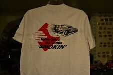 """DON """"THE SNAKE"""" PRUDHOMME SKOAL BANDIT FUNNY CAR T SHIRT M COME OUT SMOKIN'"""